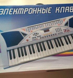 Электронное пианино детское