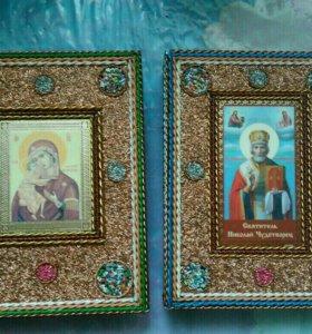 Ручные книжки-копилки (с изображением святых)