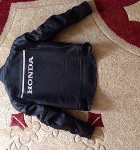 Кожаная куртка Хонда