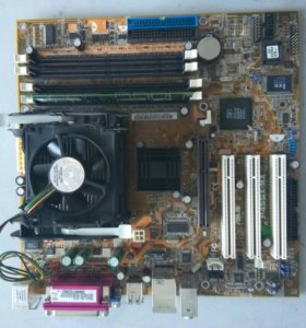 Комплект мат.плата+процессор+память