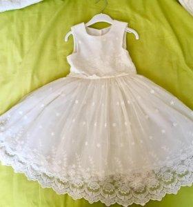 Платье нарядное 110₽