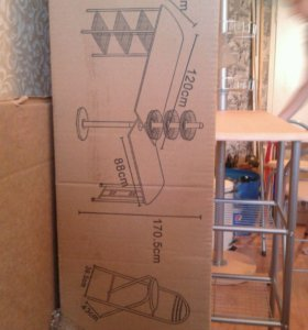 Стол кухонный + 2 стула