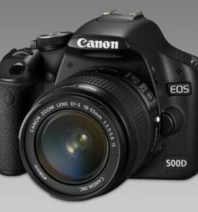 Зеркалка canon eos500d