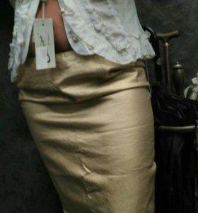 Юбка, блузка, новые, 44-46 размер,комплект