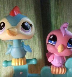 Фигурки Littles Pets Shop - птички
