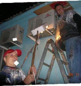 Монтаж сплит-систем, ремонт и чистка