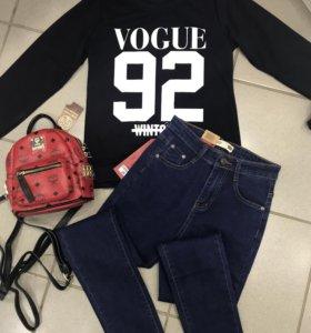 Новые свитшоты 🆕и джинсы