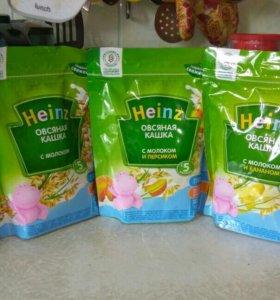 Каши Heinz молочные