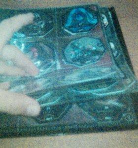 Альбом фишки звёздные войны вся колекция