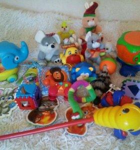 Игрушки детские от 0+