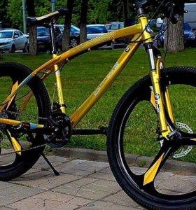 Велосипед Новый BikeManWant На литых дисках