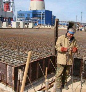 Цементные стяжки, бетонные работы