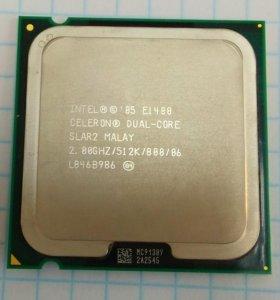 Процессор CPU Intel Celeron Dual-Core E1400 2.0