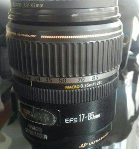 Объектив 17-85mm