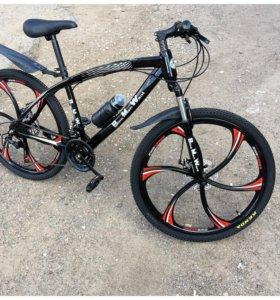 Велосипед Крутой Литые диски Bmw