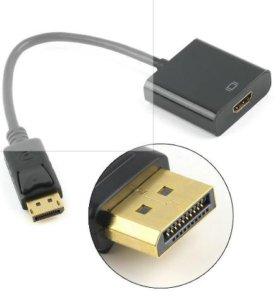 DisplayPort к HDMI видео адаптер конвертер