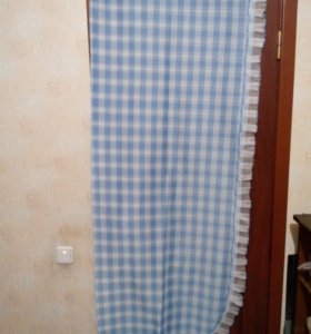штора кухонная