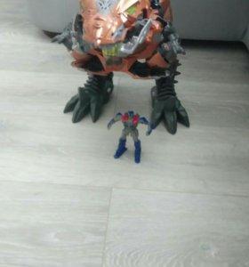 """Робот """"Динозавр Гримлок"""" трансформеры."""