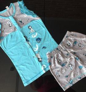 Пижама на девочку (7-8 лет)