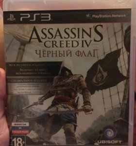 Игра на PS3 Assassins Creed 4