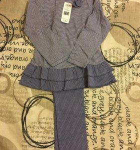 Пижама для девочки новая, Франция
