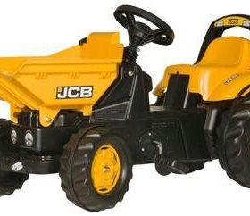 024247Педальный Трактор rollyDumperKid JCB