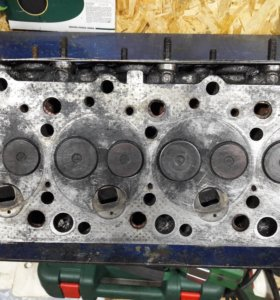 ГБЦ (головка блока цилиндров ) на ДВС 4D56, б/у