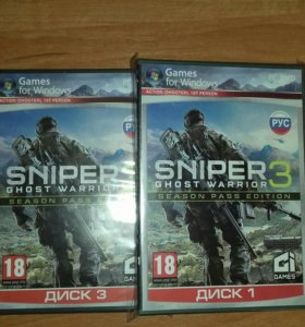 Sniper 3 ghost warrior 4 диска