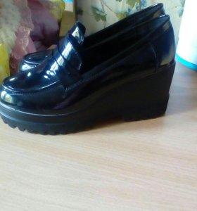 Туфли на платформе(торг)