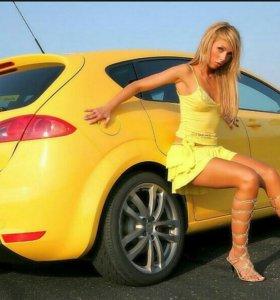 Помогаем в трудоустройстве в такси.