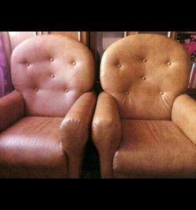 Кресла из кож.зама