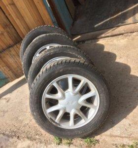 Зимние колёса ВАЗ