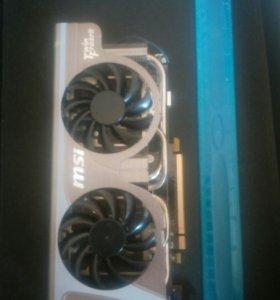 Видеокарта Msi n560 GTX TI