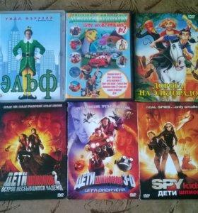 DVD диски с фильмами 27 шт