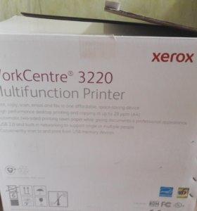 Xerox WorkCentre 3220 Multifunction Printer.