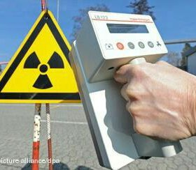 Замер уровня радиоактивности
