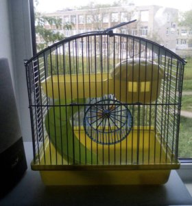 Клетка для хомячка !!!)
