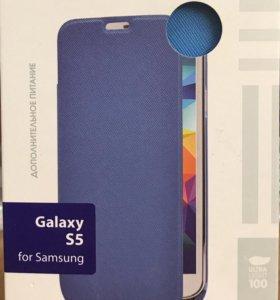 Чехол аккумулятор для Samsung s5
