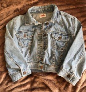 Джинсовый пиджак Zolla