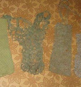 сумки сетки авоськи вязанные