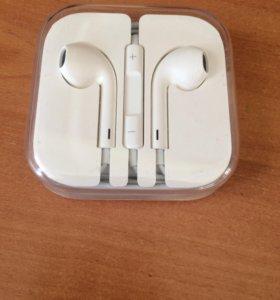 Наушники Apple оригинальные.
