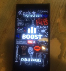 Highscreen boost 3pro se hi-fi