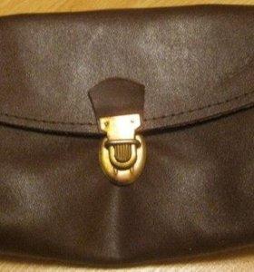 сумочка для документов кожаная НОВАЯ