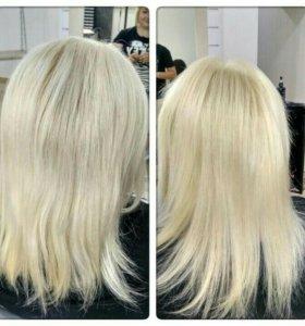 Антихимия, восстановление волос