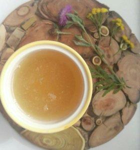 Органический липовый мед свежий с частной пасеки
