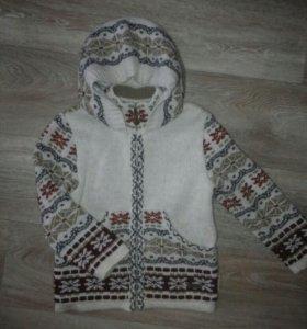 Куртка вязанная мальчик/ девочка