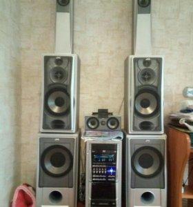 Музыкальный центр JVC DX-T9