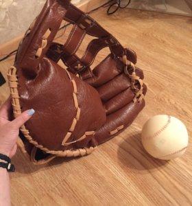 Ловушка и бейсбольный мяч