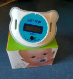 Соска термометр