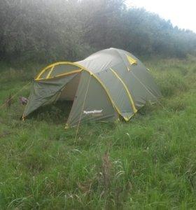 палатка 4 местная rock land новая